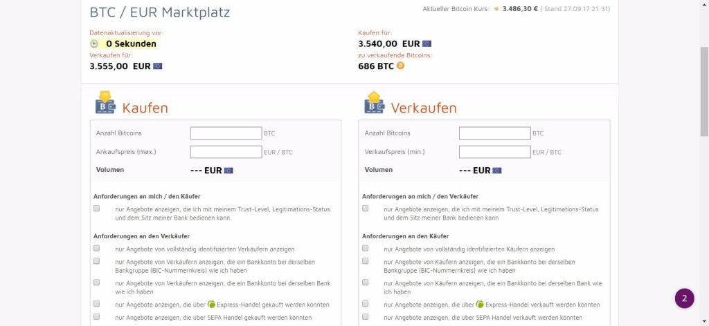bitcoin.de einzahlen